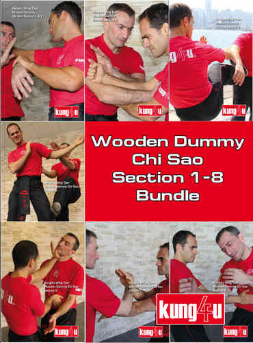Wooden Dummy Chi Sao Section 1-8 Bundle